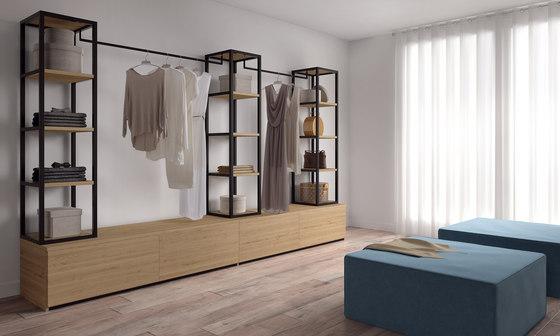 Ilusion Walk-In-Closet by Sistema Midi | Walk-in wardrobes