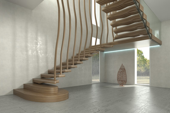 Wave by Siller Treppen | Staircase systems