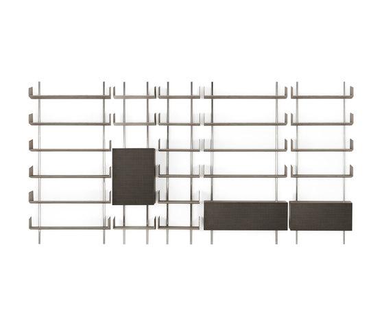 Brera Shelving system by Gallotti&Radice | Shelving