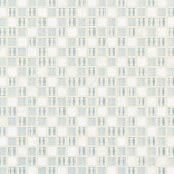 Ebb & Flow Snow And Ice by Crossville | Glass mosaics
