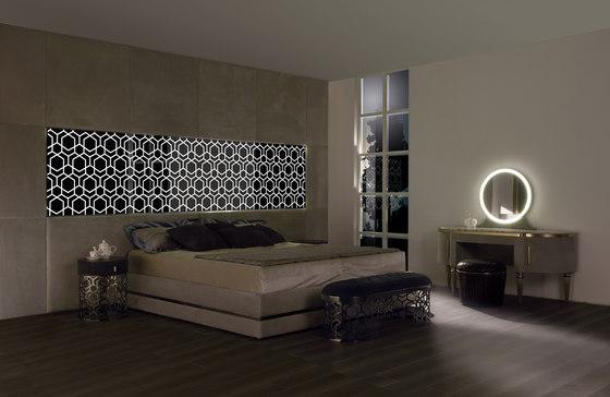 Elegant boiserie by Longhi S.p.a. | Beds