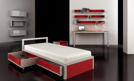 Juvenil Bed di Sistema Midi | Letti per bambini