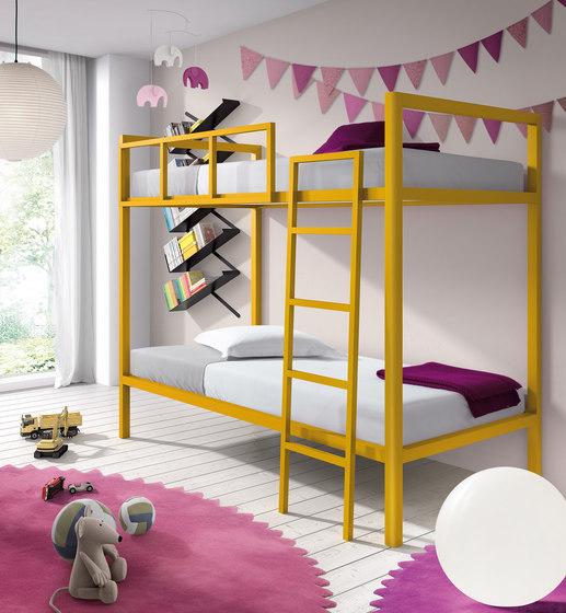 Juvenil Bunk Bed di Sistema Midi | Letti infanzia