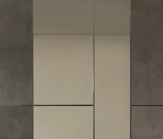 Land by Longhi S.p.a.   Leather tiles