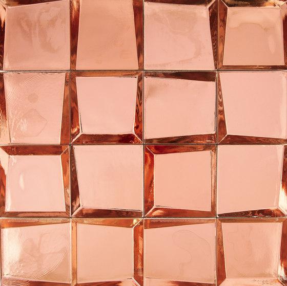 Sideview Glass Copper de Crossville | Mosaïques verre