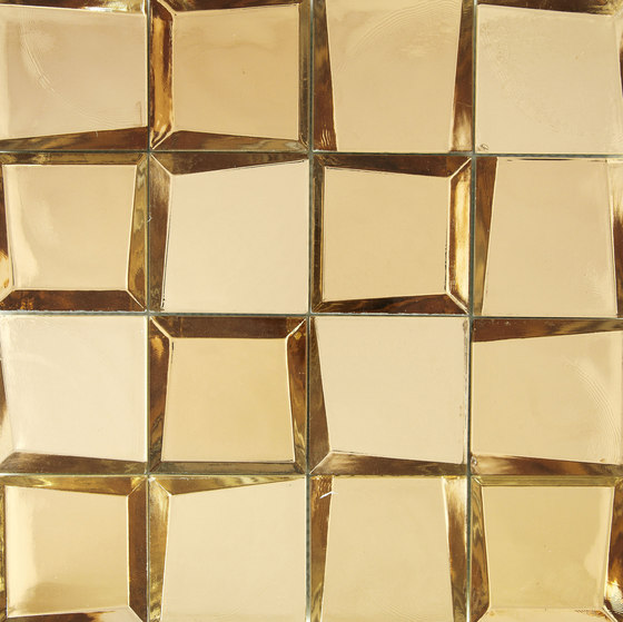 Sideview Glass Gold di Crossville | Mosaici vetro