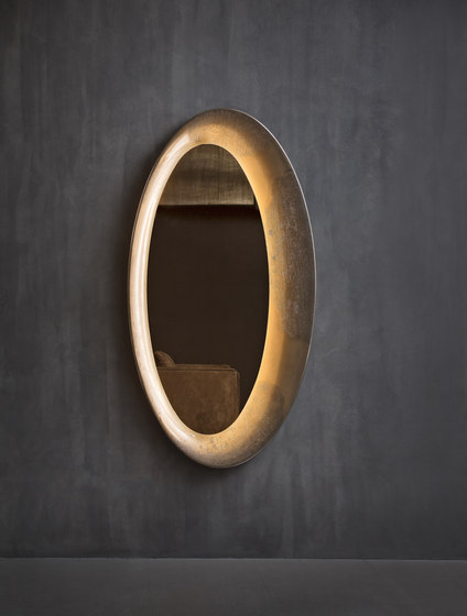 Saturno Wall mirror by Flou | Mirrors