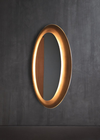 Saturno Wall mirror by Flou   Mirrors