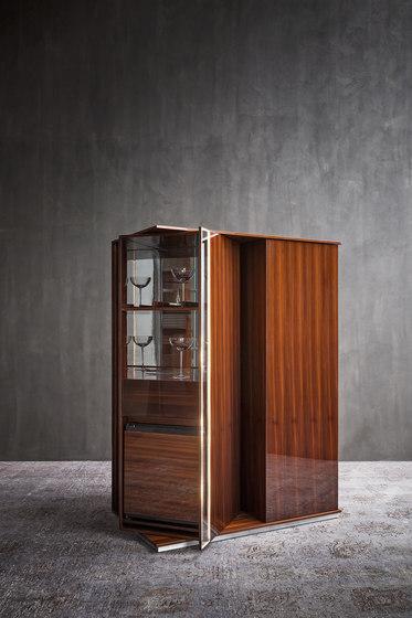 Torri Bar-refrigerator by Flou | Display cabinets