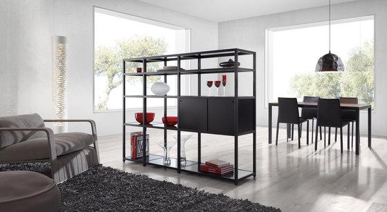 Ilusion Bookshelf by Sistema Midi | Shelving