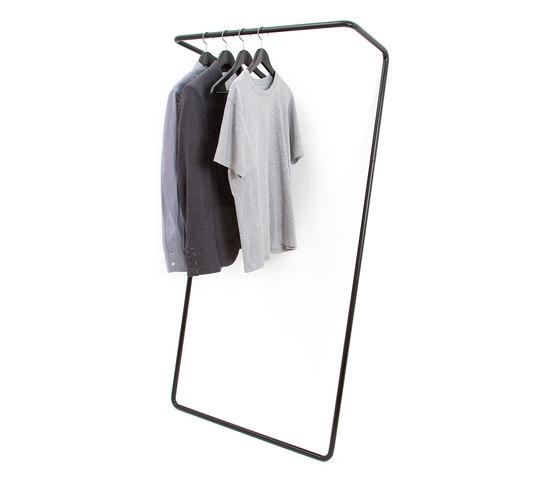 Untitled Rail Large Black by Untitled Story   Coat racks