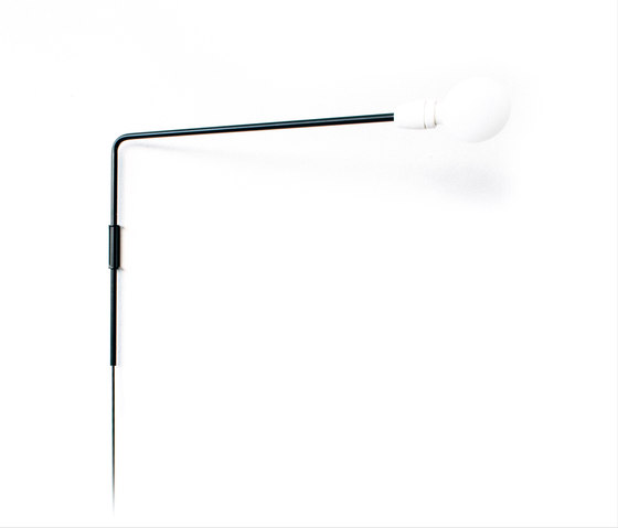 Untitled Wall Light Black by Untitled Story   Wall lights