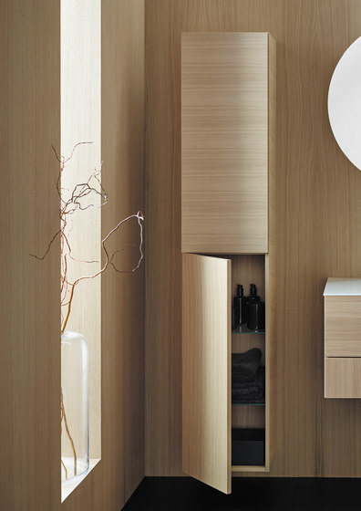 Coco | Tall unit by burgbad | Freestanding cabinets