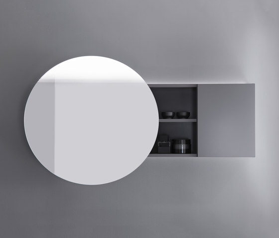 Coco | Mirror cabinet with indirect LED-light and selection: cold/warm white by burgbad | Mirror cabinets