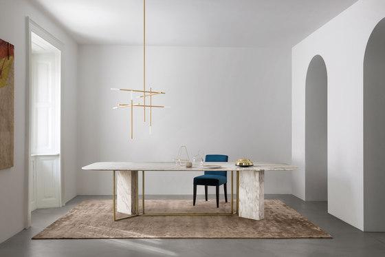 Plinto Table Y2W de Meridiani | Mesas comedor