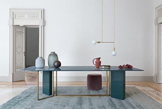 Plinto Table Y2W de Meridiani   Mesas comedor