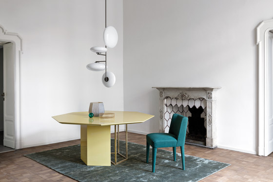 Plinto Table ZK by Meridiani | Meeting room tables