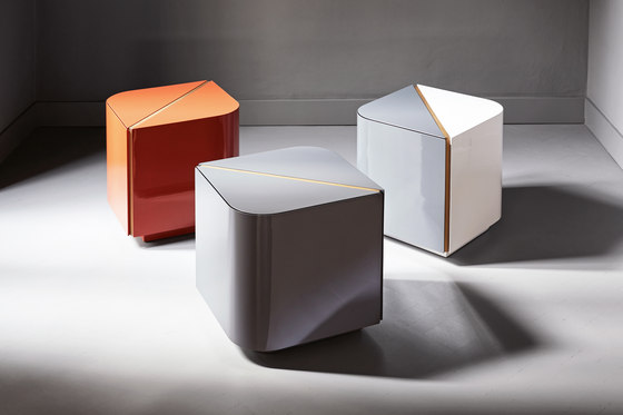 Dimitri Night table by Meridiani | Side tables