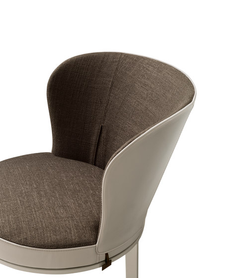 Ode Chair by Giorgetti | Visitors chairs / Side chairs