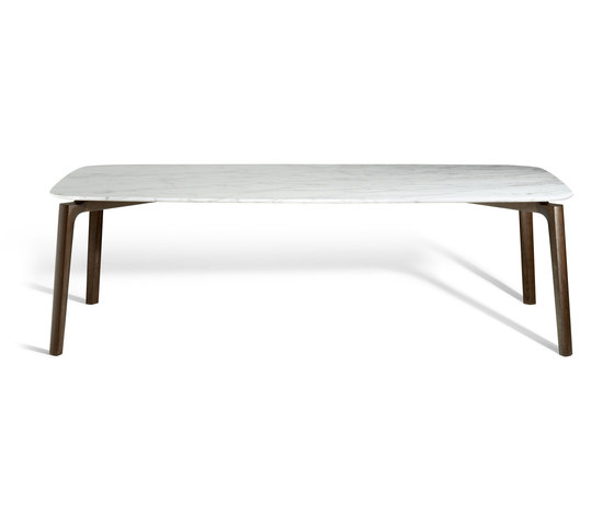 Nabucco by Poltrona Frau | Dining tables