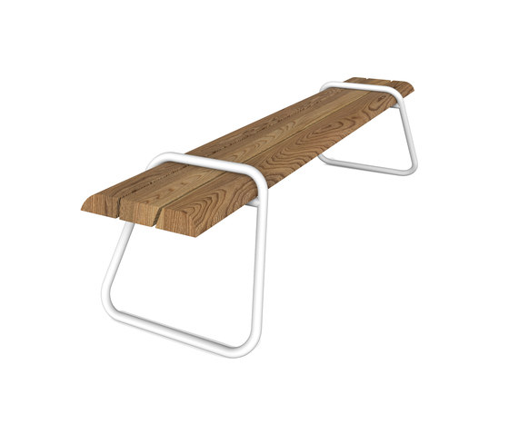 Clip-board bench 220 by Lonc | Garden benches