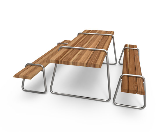 Clip-board picnic 220 | bench & table de Lonc | Tables and benches