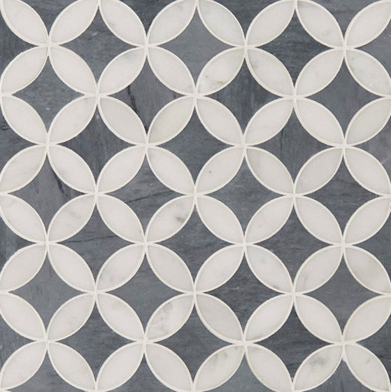 Art Deco Corbusier (Small) by Claybrook Interiors Ltd. | Natural stone tiles