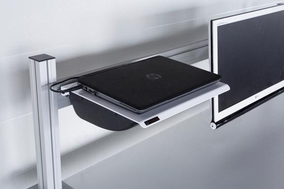 Power Shelf di Götessons | Prese tavoli