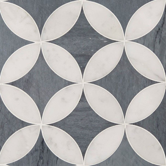 Art Deco Corbusier (Large) by Claybrook Interiors Ltd. | Natural stone tiles