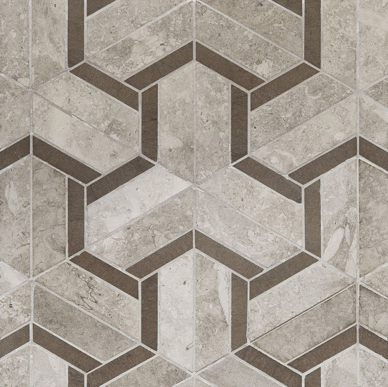 Art Deco Maze (Large) by Claybrook Interiors Ltd. | Natural stone tiles