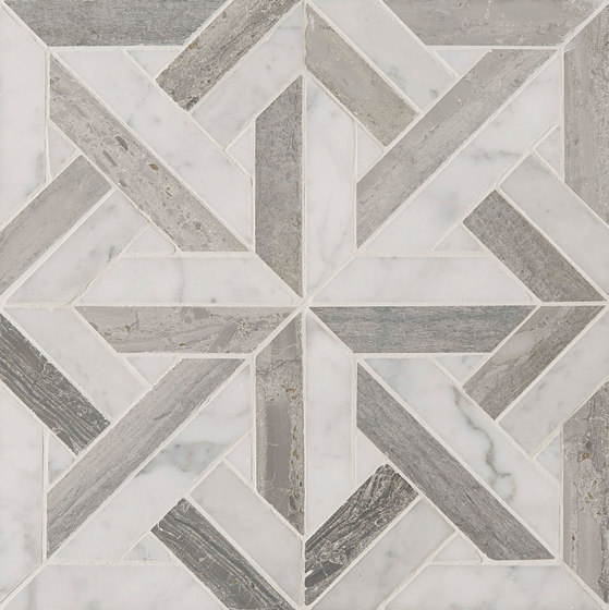 Art Deco Parquet by Claybrook Interiors Ltd. | Natural stone tiles