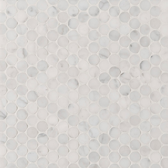 Manhattan Penny Round by Claybrook Interiors Ltd. | Natural stone tiles