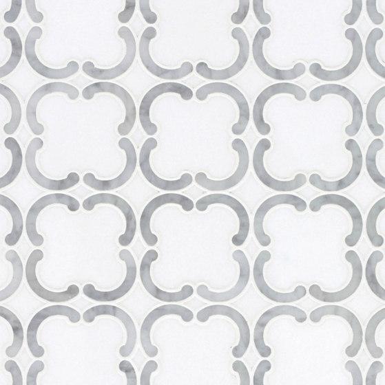 Belle Epoque Quatrefoil by Claybrook Interiors Ltd. | Natural stone tiles