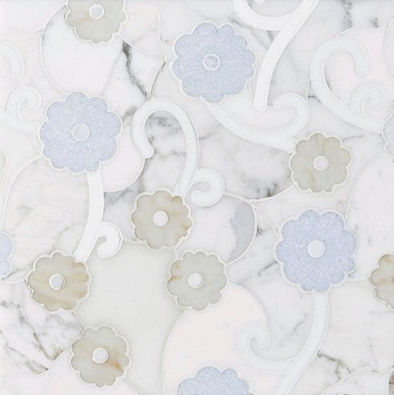 Belle Epoque Trellis by Claybrook Interiors Ltd. | Natural stone tiles