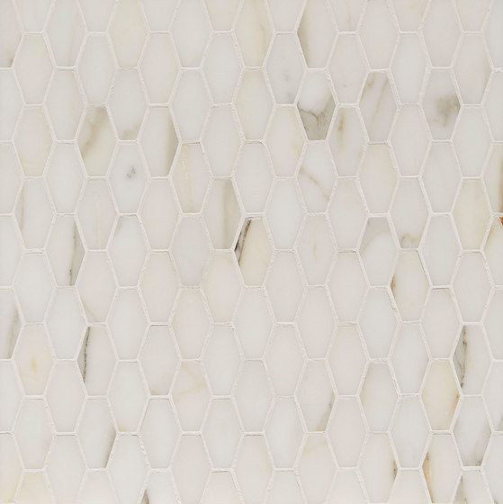 Manhattan Elongated Hexagon by Claybrook Interiors Ltd. | Natural stone tiles