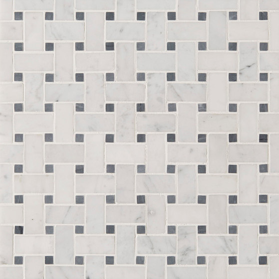 Manhattan Basketweave by Claybrook Interiors Ltd. | Natural stone tiles