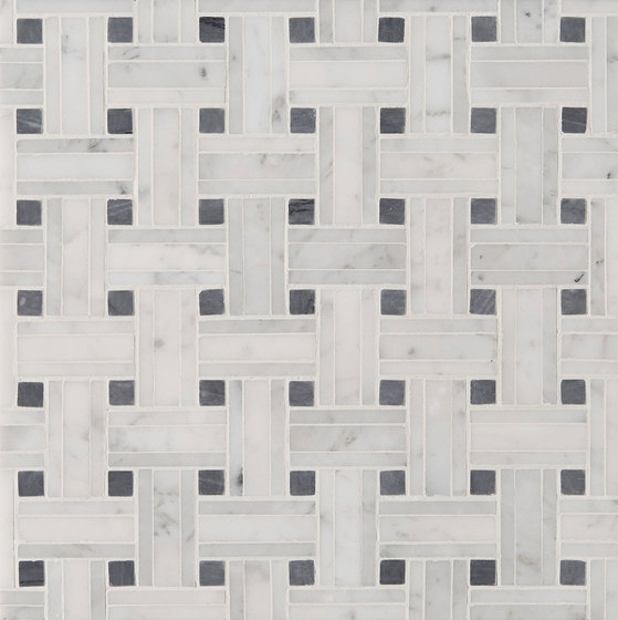 Manhattan Tri Weave by Claybrook Interiors Ltd. | Natural stone tiles