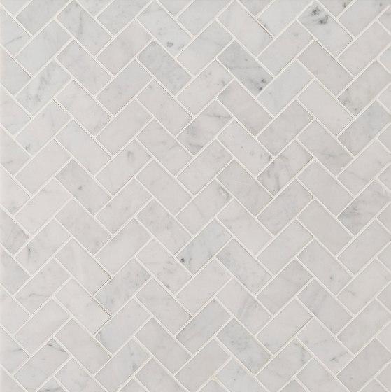 Manhattan Offset Herringbone by Claybrook Interiors Ltd. | Natural stone tiles