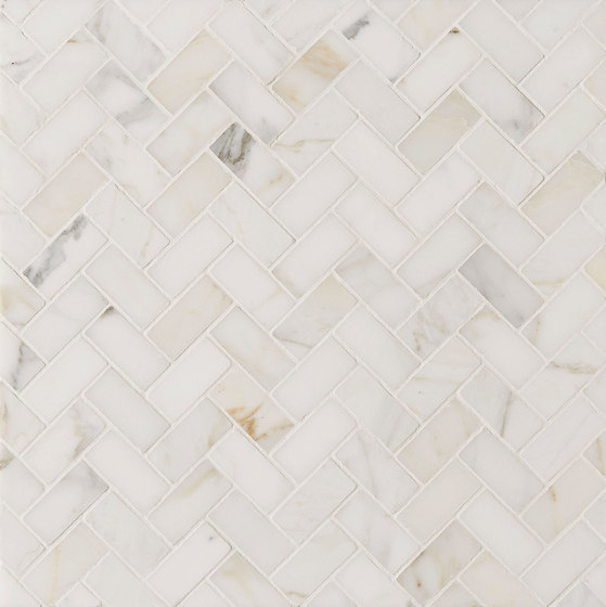 Manhattan Offset Herringbone di Claybrook Interiors Ltd. | Piastrelle pietra naturale