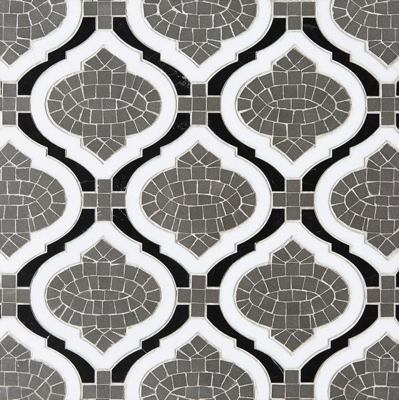 Marrakech Sofia Stone Mosaics by Claybrook Interiors Ltd. | Natural stone tiles