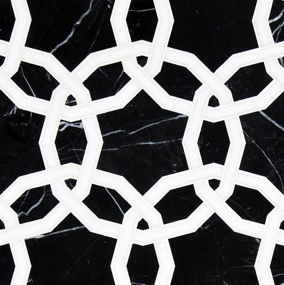 Marrakech Octet Stone Mosaics by Claybrook Interiors Ltd. | Natural stone tiles