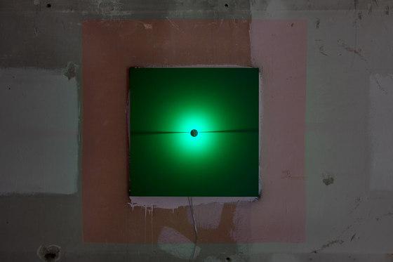 O'Tool one slot | green by benwirth licht | Wall lights