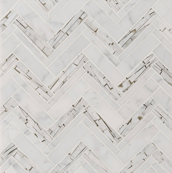 Safari Offset Herringbone de Claybrook Interiors Ltd. | Dalles en pierre naturelle