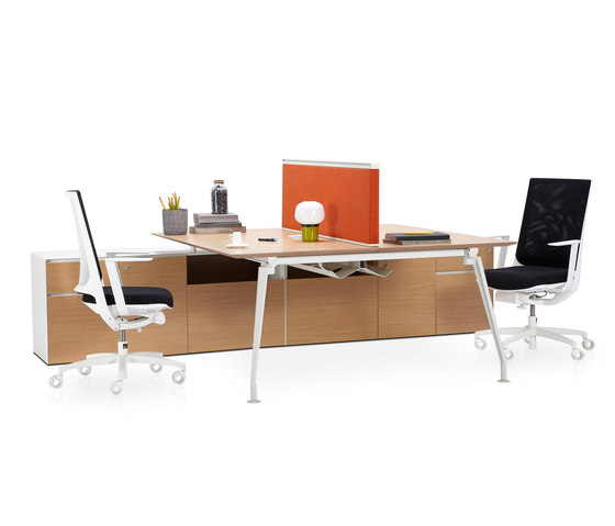 Borges Operational Desk System de Koleksiyon Furniture | Bureaux