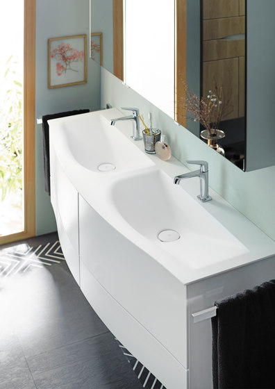 Sinea 2.0 | Mineral cast washbasin incl. vanity unit de burgbad | Armarios lavabo