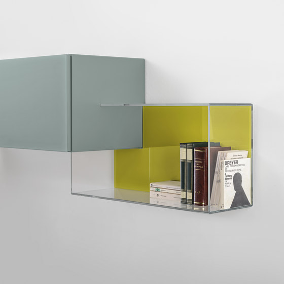 36e8 Glass_storage by LAGO | Shelving
