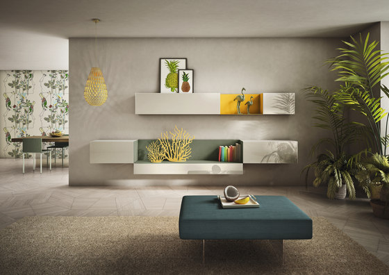 36e8 Side_storage by LAGO | Wall storage systems