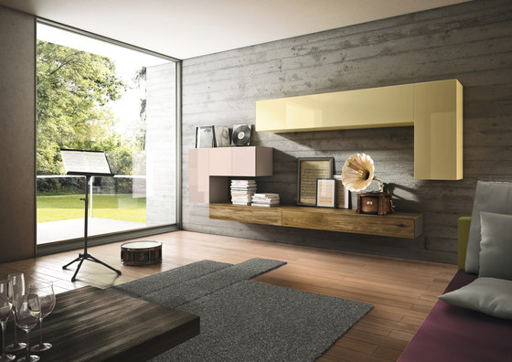 36e8 Wildwood_storage by LAGO | Wall storage systems