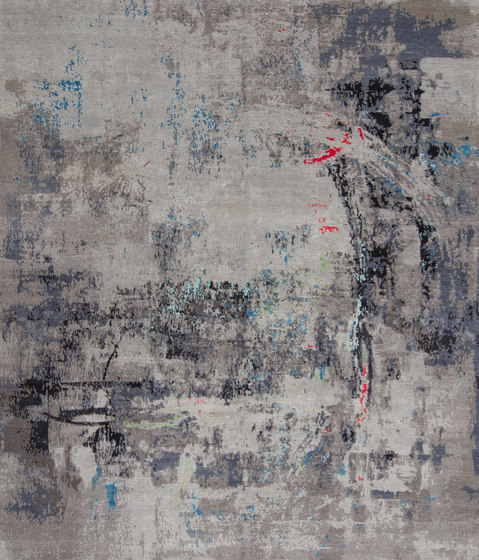 Abstracts 1 black by THIBAULT VAN RENNE | Rugs
