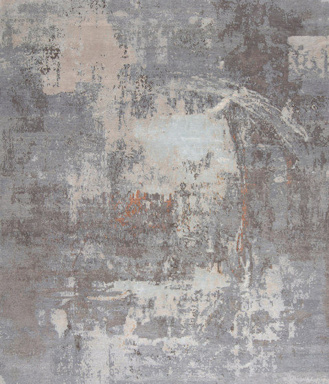 Abstracts 1 grey by THIBAULT VAN RENNE | Rugs